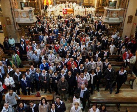 Alrededor de 300 personas asistieron al Encuentro de Seglares que este 2018 fue en la Basílica de la Merced.