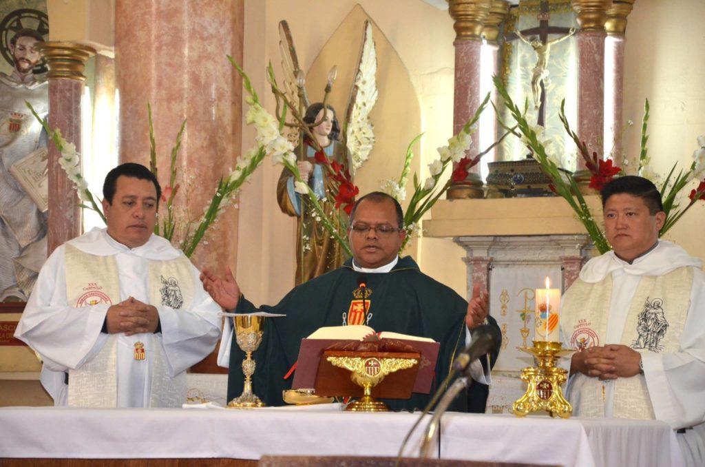 Fray Juan Carlos Saavedra Lucho, Maestro General de la Orden de la Merced, tiene 22 años de ser sacerdote.
