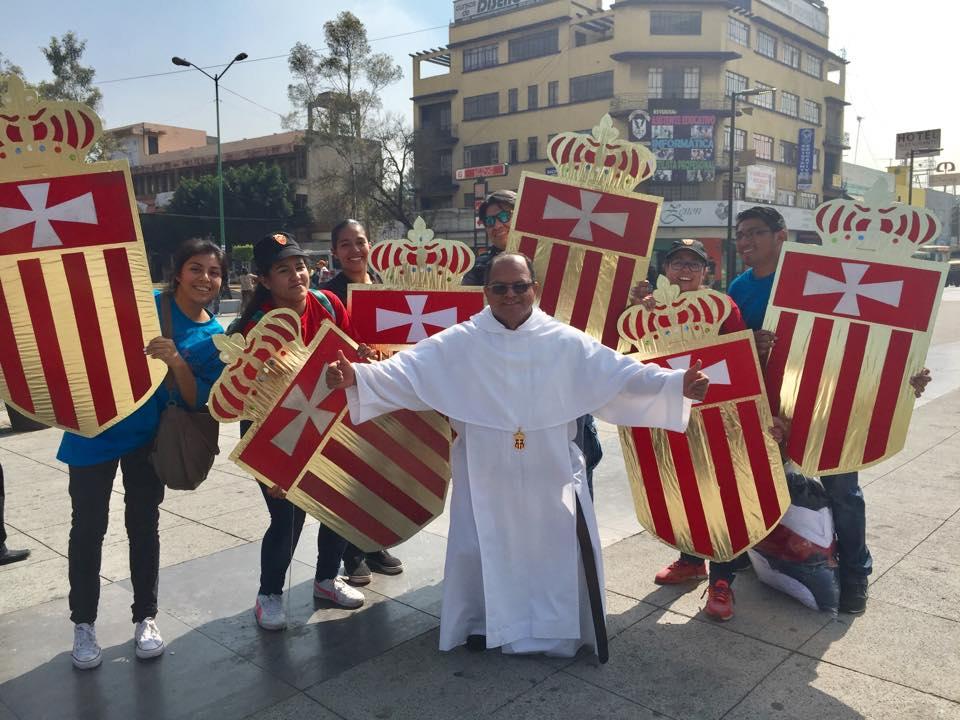 El líder de la Orden de la Merced, Fray Juan Carlos Saavedra, visita constantemente las comunidades mercedarias de todo el mundo.