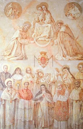 'Apoteosis Mercedaria', obra de la artista Nati Cañada, para la Orden de la Merced en sus 800 años de fundación.