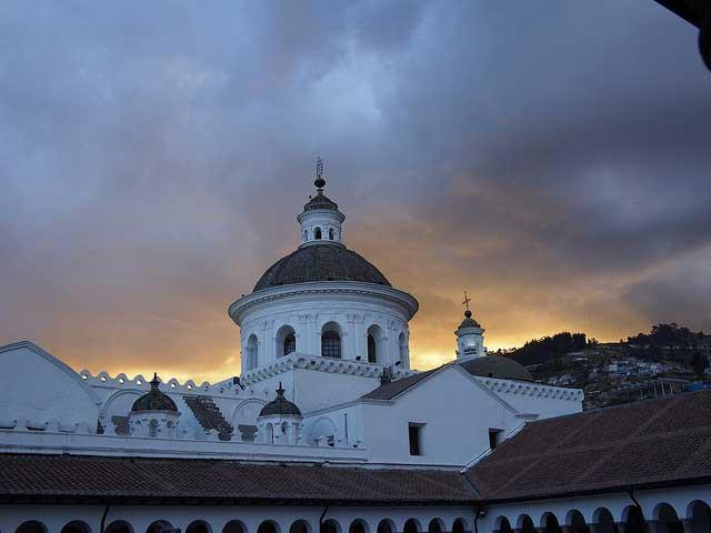 La Merced en Quito, Ecuador.
