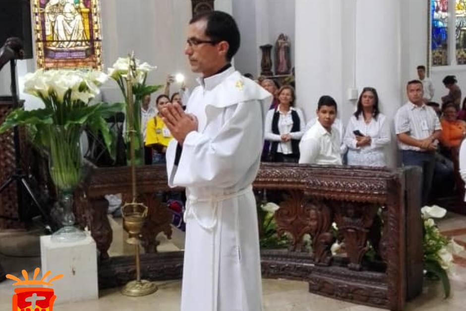 Ordenación de Fray Alejandro Rincón Quiroz