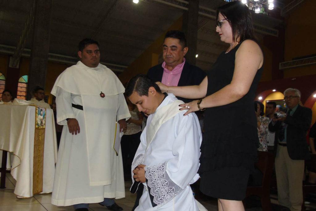 Ordenación sacerdotal de Fray Jonathan Josué Vásquez Madrid.