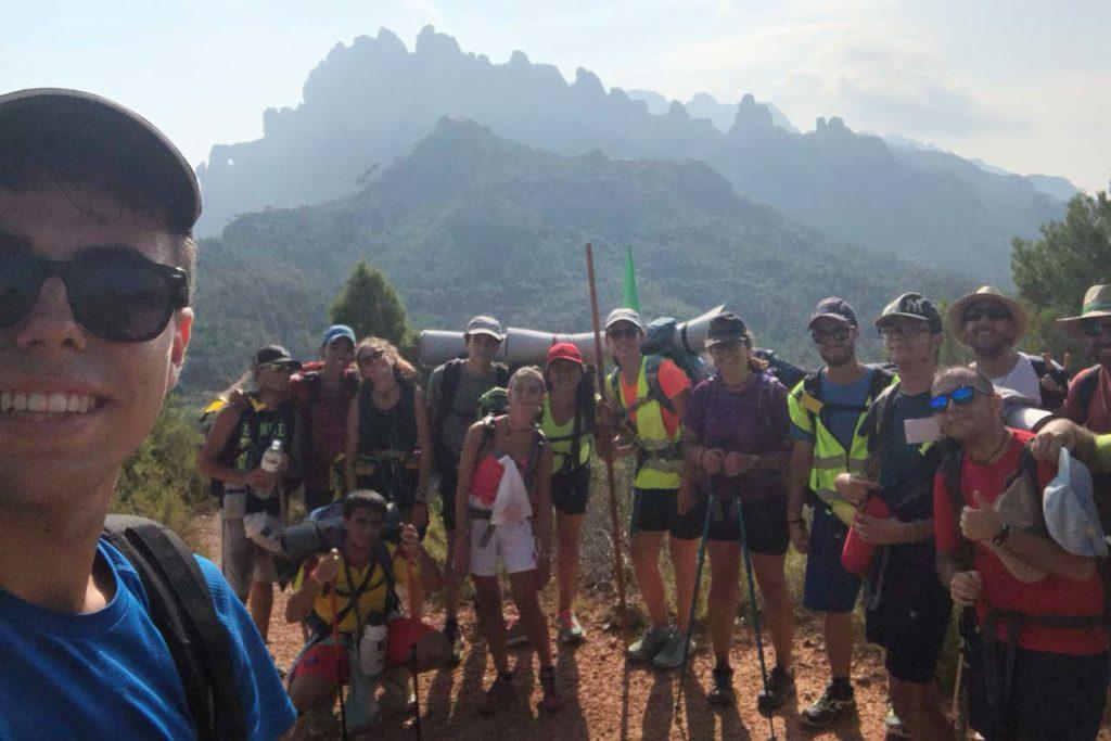 Jóvenes mercedarios residentes en España e Italia asistieron al Camino de Nolasco.