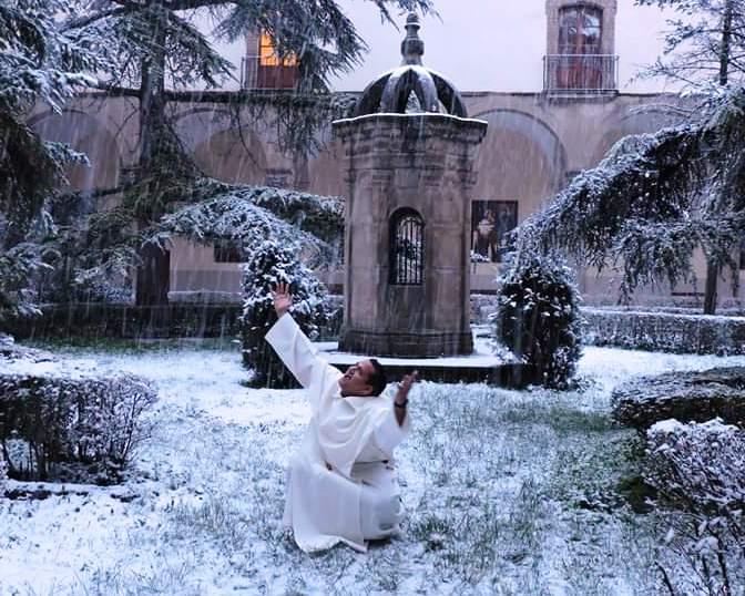 Un año estuvo Fray Andrés Jaimes en el Santuario de San Ramón, Lleida (España) formándose como novicio.