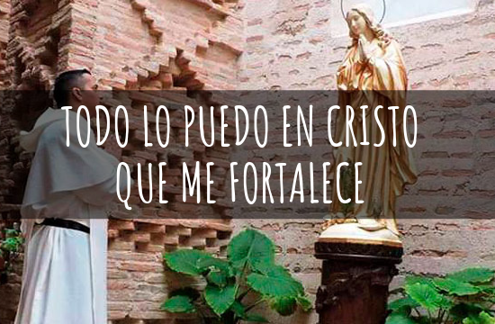 Testimonio vocacional de Fray Andrés Jaimes Carrillo.
