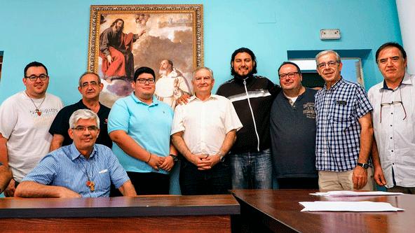 Frailes mercedarios reunidos para hablar del 'Christus Vivit', vocaciones y Pastoral Juvenil.