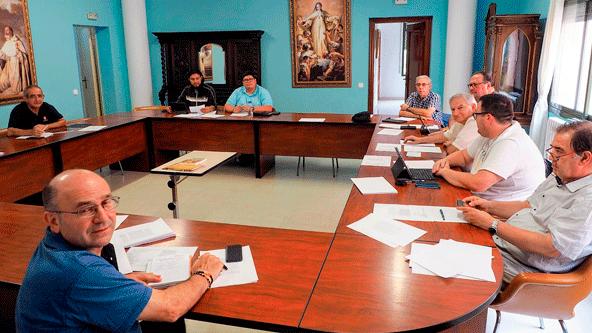 Reunión de delgados locales de vocaciones y Pastoral Juvenil de la Provincia Mercedaria de Aragón en España.