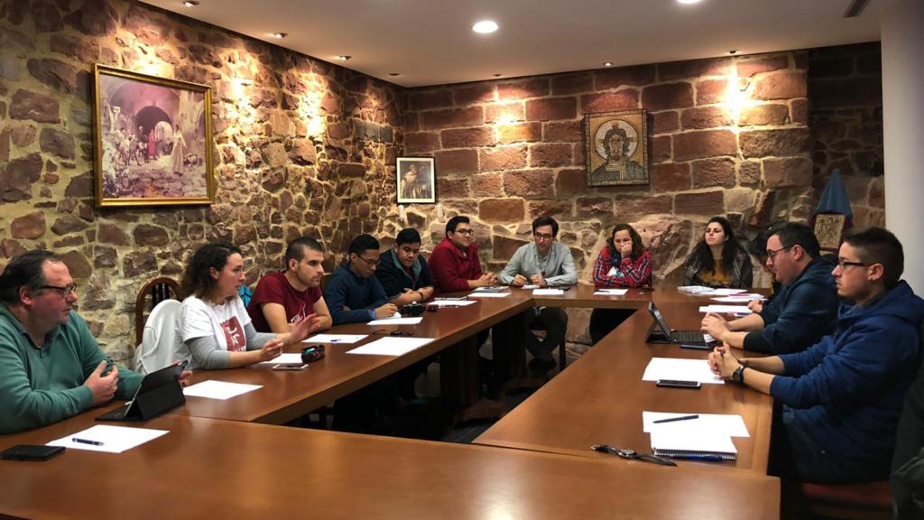 Reunión del Equipo de Pastoral Juvenil Vocacional – Misión Compartida de la Provincia Mercedaria de Aragón, España.