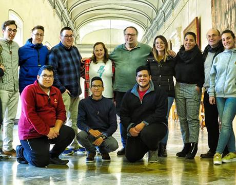 El Equipo de Pastoral Juvenil Vocacional habló, entre otros otemas, de la importancia de 'perder el miedo a plantear la vocación'.
