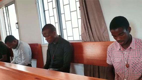 Los novicios continúan con sus labores de oración y formación en su proceso vocacional mercedario.