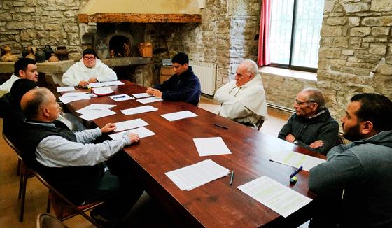 Comunidad del Noviciado de España, en el Convento de San Ramón Nonato, Lleida.