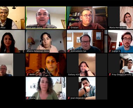 Equipo de Pastoral Vocacional tuvo una reunión virtual
