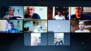 Reunión virtual de formadores vocacionales mercedarios de Aragón.